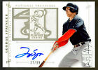 GEORGE SPRINGER - 2014 NATIONAL TREASURES PLAYERS CHOICE AUTO RC JERSEY #37 99