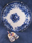 Vintage Royal Bonn Decorative Plate Roses & Miniature MS Denmark Windmill Clogs