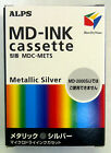 Alps MD Printer Ink Cartridge Metallic Silver MDC METS Replaces 106045 00