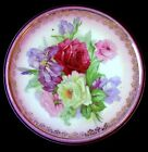 Antique Porcelain ROSES Thuringia GERMANY 6 1/2