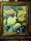 Tropical fish by Sylvia  Stanton of New Orleans 16x20 original oil painting