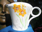 SHELLEY   NARCISSUS   REGENT SHAPE  LARGE CREAMER AND SUGAR BOWL  -   RARE! !