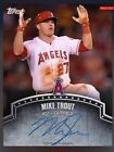 Topps Bunt Digital 2015 Mike Trout Blue Sig Signature (150)