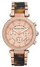 Michael Kors Women's MK5538 Chronograph Rose Gold-Tone Stainless Steel Watch