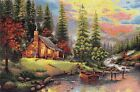Luca-S New Embroidery Tapestry Kit - Mountain Landscape