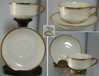 ELEGANT,HAVILAND   LIMOGES FRANCE  CUP AND SAUCER , WHITE&GOLD