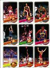 1979 - 80 topps basketball card lot 0f 71 All Different All Scanned exmnt nrmnt