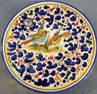 Deruta pottery-8,1/4 Inch Plate With Arabesco Pattern.Made/painted by hand-Italy