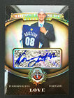 # 50 Kevin Love 2008-09 Topps Treasury Bronze Refractor Auto RC #125