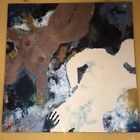 Vintage Abstract Oil Painting Original  nude Circa. 1990 48x48x1.5