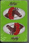 RARE RACE HORSE DOWNS RACE TRACK ON PLAYING CARDS