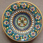 Deruta Pottery-16inch plate vario Pattern made/painted byhand-Italy.