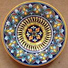 Deruta Pottery-14inch plate vario Pattern made/painted byhand-Italy.