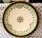 AMAZING VICTORIAN TRANSFER WARE ANGELS & EAGLES PLATE - OLD ABBEY, LIMOGES