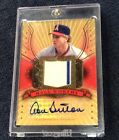 Don Sutton 2005 Upper Deck Hall Of Fame Autograph Jersey 5 HOF 2 Color