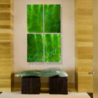 green art painting 3D sculpture contemporary abstract forest wall decor 3D video