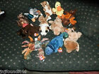 11 TY Beanie Babies*Variety Lot*Quacker*Dogs*Lion*Crab*Moose*Bison*Iguana*Nuts++