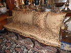 Elegant Cane Back Sofa, Elegant French Sofa, Couch, Oversized Down Sofa 139A
