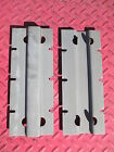 HOOSIER CABINET SIDE MOUNT BRACKETS FLAT PAIR   FREE SHIPPING!!