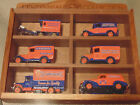 J.M. Schneider Delivery car Set Centennial collection   Wooden Display case Mint