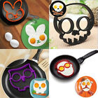 Cute Silicone animals Egg Fried Shaped Mould Shaper Ring Kitchen Cooking Tool