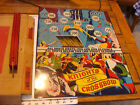Vintage KNIGHTS of the CROSSBOW w safty darts TIN TARGET so clean in box