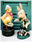 Country Primitive Spring Easter Chick and Bunny Dolls Craft Sewing Pattern