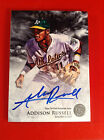 ADDISON RUSSELL 2013 Bowman Inception Auto Autograph - Chicago Cubs CALL UP !