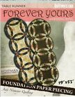 FOREVER YOURS WEDDING RING TABLE RUNNER SEWING PATTERN, From Quiltworx NEW