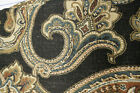 4.2 Yard Section of Heavy Large Print Antique Upholstery / Drapery Fabric 54 Wid