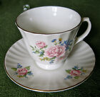 Newhall Fine Bone China Tea Cup and Saucer Made in England New Hall