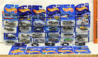 Hot Wheels Police  Sheriff Vehicle Lot 29 Pc 1991 2000 No Two Cards Alike NOC