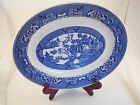 Vintage Homer Laughlin Blue Willow Pattern Large 11.75
