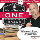 MicroTouch ONE Classic Safety Men Razor -AS SEEN ON TV-Micro Touch Perfect Shave