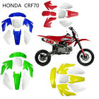 Plastic Body Fairing For Honda CRF70 Taotao Coolster 70cc 125cc Pit Bike Chinese