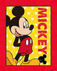 DISNEY MAD ABOUT MICKEY MOUSE PANEL FABRIC MATERIAL, By Springs Creative Product