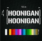 HOONIGAN JDM Euro Banner Ken Block Hater Car Window Decals Cool 2 10 Stickers
