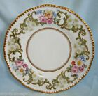 Vintage Limoges D & Co France HP Pink Roses White Daisy Gold 9
