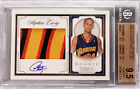 09-10 Stephen Curry National Treasures RC Rookie Patch Auto 99 BGS 9.5 x4 w 10
