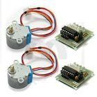 2pcs DC 5V Stepper Motor 28BYJ 48 + ULN2003 Driver Test Module Board for Arduino