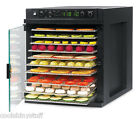 Tribest Sedona Express Food Dehydrator w/Stainless Steel Trays Digital SD-6780