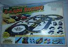 Tyco 4-Lane Racing Magnum 440-X2 with 4 exotic Super Cars COMPLETE! and works