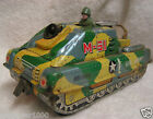 Vintage Tin Litho US Army Tank M-61 8511898 Plaything Made in Japan