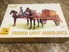 HAT8103 1/72 Napoleonic French Light Horse Drawn Ambulance (3 Sets)