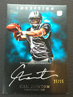 # 25 Cam Newton 2011 Topps Inception Rookie Auto Silver Ink RC #SS-CN