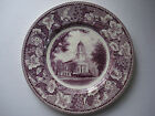 Vintage The North Church, Congrational Cambridge MA Plate - Made in England