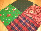 60 Christmas 4 x 4 quilting squares CHR 33
