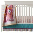 Zutanoblue Hearts 4-Piece Crib Bedding Set By Kids Line Pink *New*