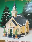 New Heartland Valley Village Deluxe Porcelain Lighted House Church Bell 9851429