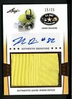 JOHN DIARSE LEAF ARMY BOWL 2013 AUTO LSU TIGERS SIGNED GAME WORN JERSEY 15 25
